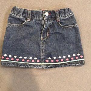 3/$15 ⭐️ Gymboree Jean Skirt
